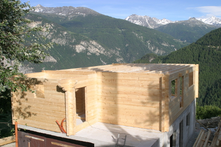 LAutoConstruction  Monter SoiMme Sa Maison Bois En Kit