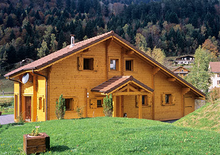 plans et photos chalets en bois